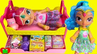 Shimmer and Shine Night Time Slumber Party Surprises