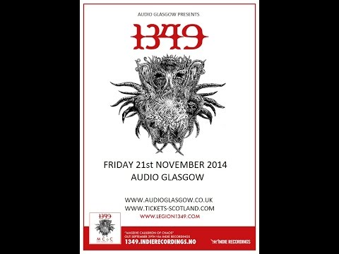 1349 (NOR) - Live at the Audio, Glasgow November 21, 2014 FULL SHOW