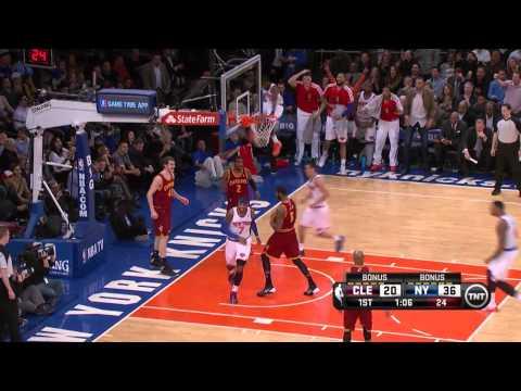 Cleveland Cavaliers vs New York Knicks 2014.1.30