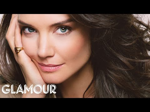 Katie Holmes Plays Word Association at Her Glamour Photo Shoot