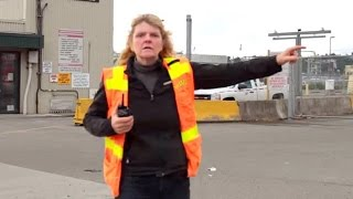 Harassed for photography. Port of Tacoma troll.