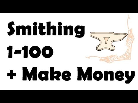 skyrim: How to get 100 Smithing after patch Fast + make money