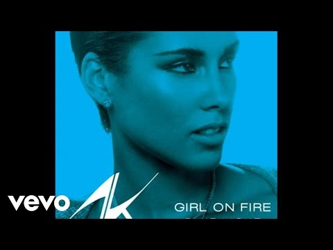 Alicia Keys - Girl On Fire (bluelight Version) (audio) video