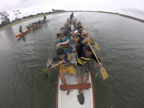 Dragon Boat Practice - Race Practice