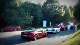 How and how not to drift - Ferrari FF - GTA Spano - F12 M6 etc + CRAZY M600 Burnout!