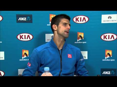 Novak Djokovic press conference (QF) - Australian Open 2015