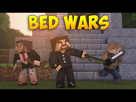 Minecraft BedWars #46 - Залупили кирками