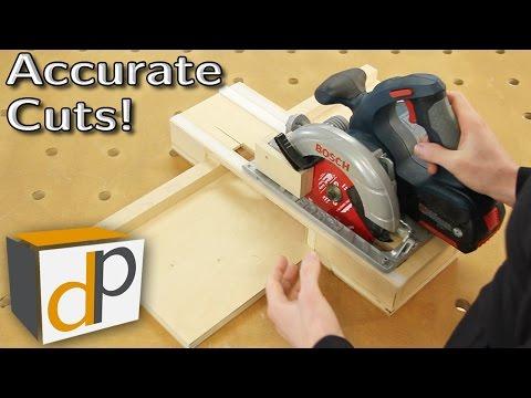 Circular Saw Cross-Cut Jig - Accurate & Dustless - Pt1