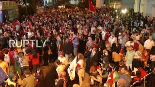 LIVE Turkish general election 2018: Erdogan supporters gather in Istanbul