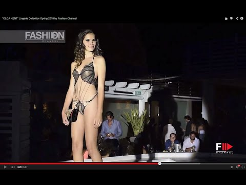 """OLGA KENT"" Lingerie Collection Spring 2015 by Fashion Channel"