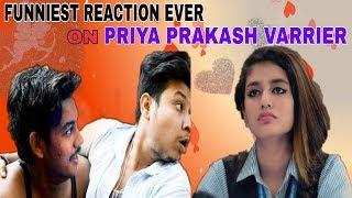 Priya Prakash Varrier Funniest Reaction Ever || FB & INSTAGRAM VIRAL VIDEO|| PRIYA KAUN HAI-|UVE10|