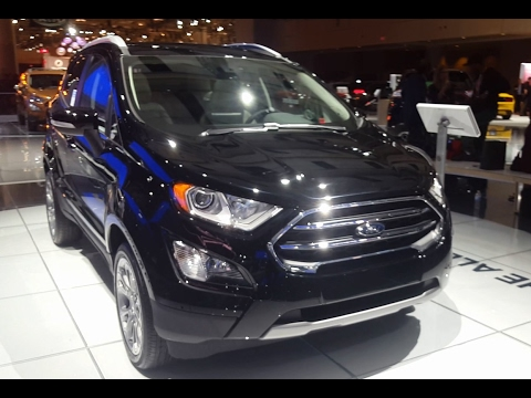 2018 Ford Ecosport Review - Walkthrough. Features & Specifications