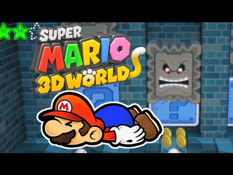 I DIED ABOUT 103 TIMES! [SUPER MARIO 3D WORLD]