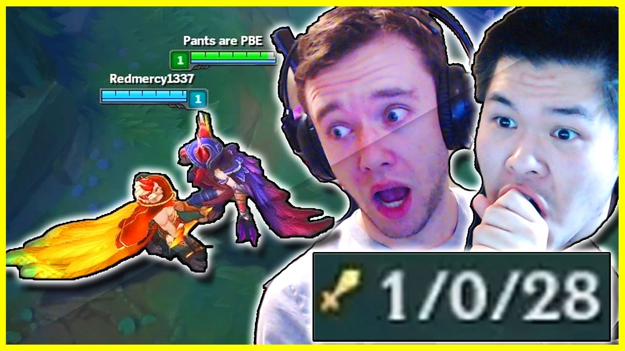 RAKAN & XAYAH BOT - RIOT ARE YOU TRYING TO CAUSE WORLD WAR 3!? ft. Redmercy   League of Legends
