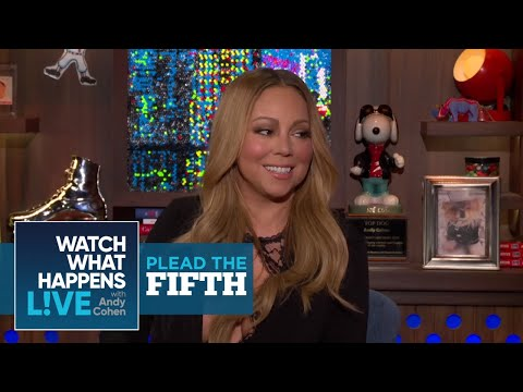 Mariah Carey Plays Plead the Fifth Again! - Plead The Fifth - WWHL