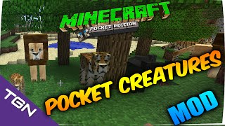 Minecraft PE 0.15.4-Pocket Creatures Mod-Mas Animales en Minecraft PE