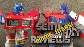 Magic Square MS01 Light of Freedom vs. Hasbro MP10 Optimus Prime Review Teil 1 deutsch/German