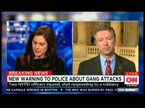 Sen. Rand Paul Appears on CNN's OutFront with Erin Burnett - January 6, 2015