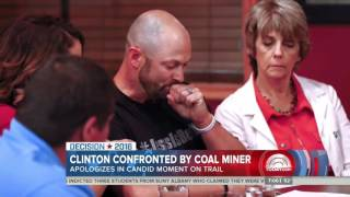 Laid-Off Coal Miner Does Not Accept Clinton's Coal Apology