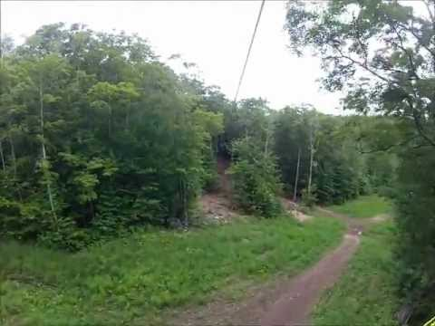Guided Canopy Zip-Line Tour at Mount Sunapee