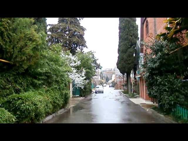 Лазаревское, погода 5 марта 2014 г + 13°С, дождик