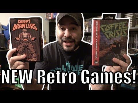 New 2017 Sega Genesis and NES Games! | 8-Bit Eric