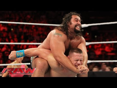 John Cena vs. Rusev - United States Championship Match: Raw, July 13, 2015