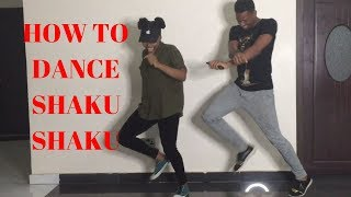 THE EASIEST SHAKUSHAKU DANCE TUTORIAL | LEARNING HOW TO DANCE SHAKU SHAKU