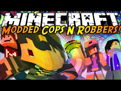 Minecraft Modded Cops N Robbers : DRUGS MOD