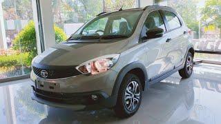Tata Tiago NRG : Walkaround : Malabar Silver : Mileage : Specs : Features : Price : PowerDrive