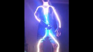 NES Power Glove Light Suit