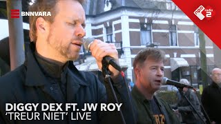 Diggy Dex ft. JW Roy - 'Treur Niet' live in Jan-Willem Start Op!