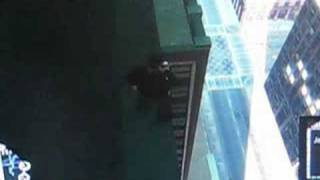 GTA 4 falling from the empire-state building and live