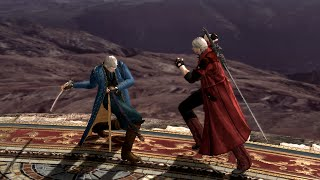 Vergil Vs Dante Close Fight (Devil May Cry 4: Special Edition)