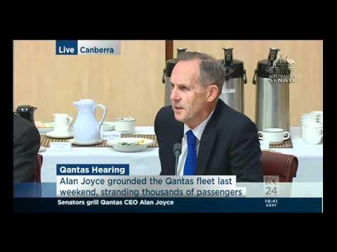 Stewed Qantas Leprechaun - Alan Joyce & Bob Brown