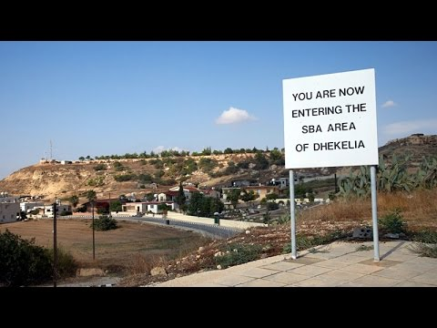 british sovereign base area dhekelia cyprus youtube