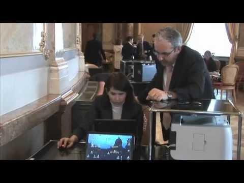 Nina Zosso im Einsatz für die BDP -  2009