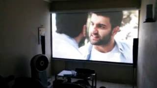 Home cinema casero 120inch Viewsonic PJD5533W