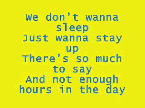 On The Ride - Aly And Aj - Lyrics video