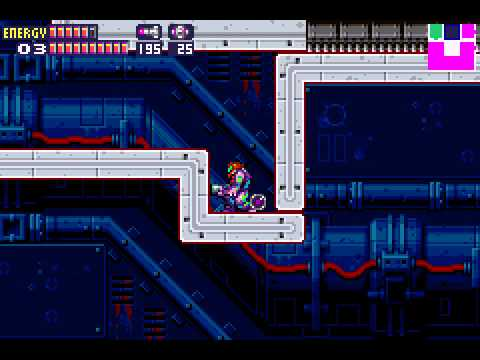 Metroid Fusion - Metroid Fusion part 20.5B bonus Secret message continued - User video