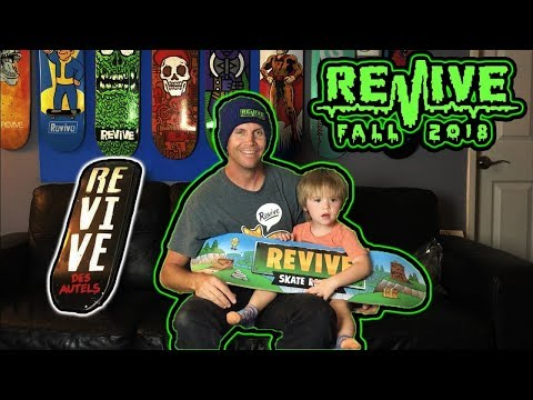 ReVive Skateboards Father Son Unboxing