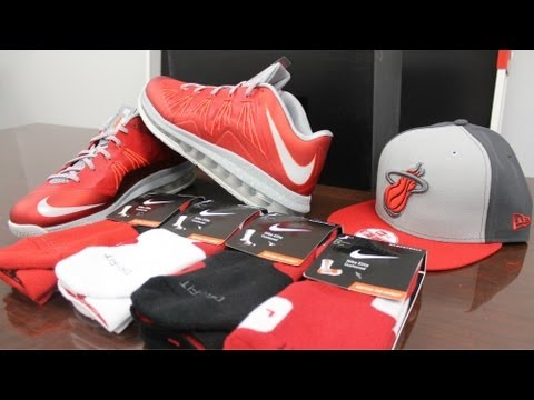 Nike LeBron Air Max X Low University Red Review
