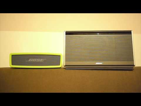 Audiotest Bose Soundlink Mini vs. Soundlink II