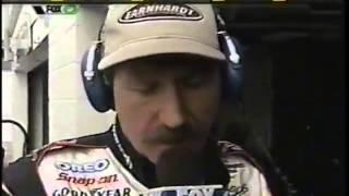 2001 Dale Earnhardt And Darrell Waltrip Interview On FOX Sports Net