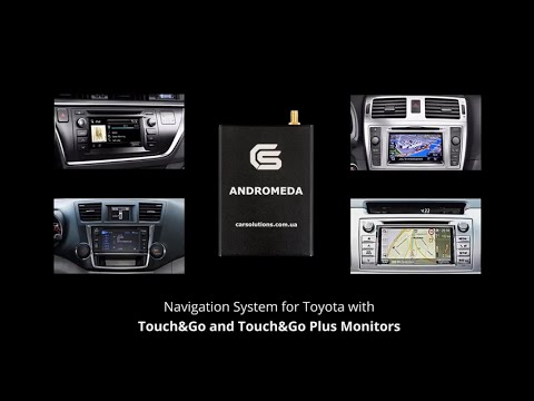 Navigation for Toyota Touch & Go on Android 4.0.4 (Andromeda)