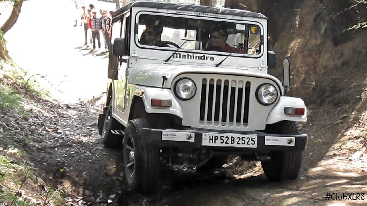 Mahindra Thar Di Off Roading Youtube