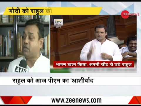 Rahul Gandhi's speech in Lok Sabha was low on substance and high on entertainment: Sambit Patra