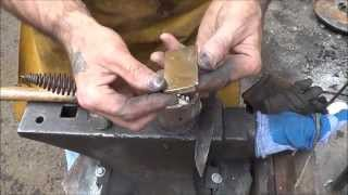 Recycling Brass For Knives With The Homemade Forge - Melting Casting Ingot