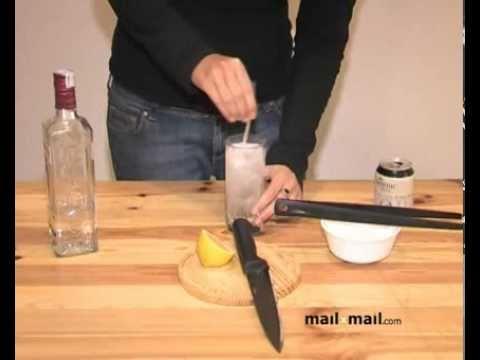 Recetas de bebidas. Gin Tonic