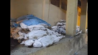 Dead bodys decompose in post-mortem house at osmania hospital due to Doctors negligence ||Hyderabad.